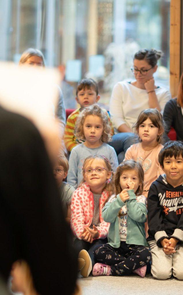 Lesung im Kindergarten - Kinderbücher