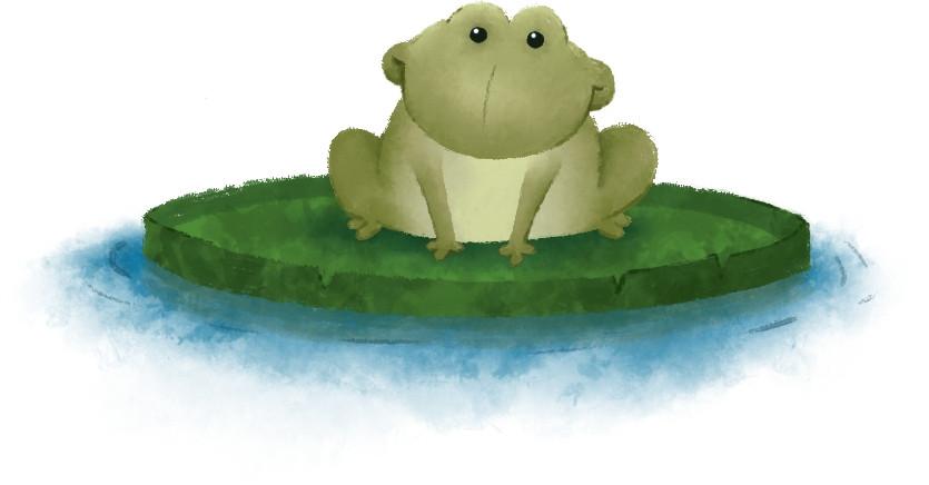 Kinderbuch - Tiere - Frosch
